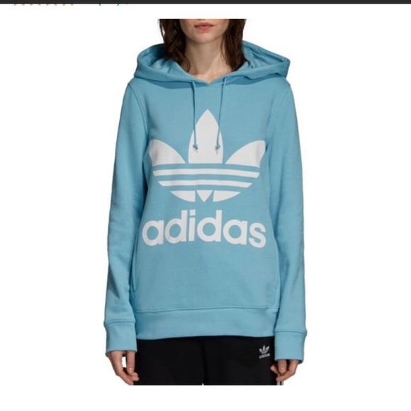 Details zu Adidas W E Lin Fz Hd Damen Sweatshirt DU0654
